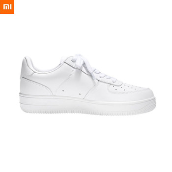 Original Xiaomi 90 White Leather Sneakers Skateboard Shones Non-Slip And Wear-Resistant Thick Sole Plus Velvet Fashion Leisure