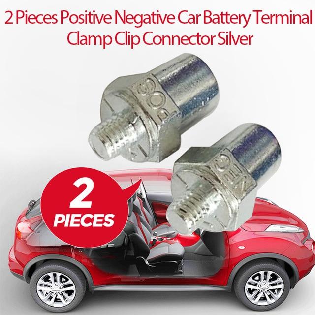 Auto Batterie Terminal Positive Negative Clamp Schraube Clip Stecker Kupfer M16 Für Toyota Honda Ford VW Nissan Etc Auto Zubehör