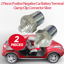 Auto Batterij Terminal Positieve Negatieve Klem Schroef Clip Connector Koper M16 Voor Toyota Honda Ford Vw Nissan Etc Auto Accessoires