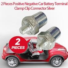 Terminal de bateria de carro braçadeira negativa positiva parafuso clipe conector cobre m16 para toyota honda ford vw nissan etc acessórios do carro