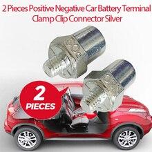 Zacisk akumulatora dodatni ujemny zacisk śrubowy złącze na zatrzask miedziany M16 dla Toyota Honda Ford VW Nissan itp akcesoria samochodowe