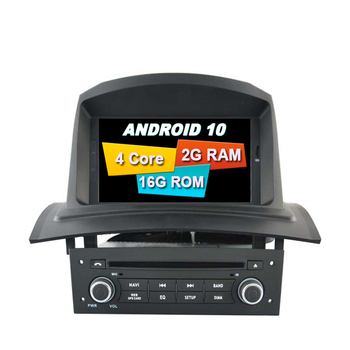 ANDROID 10.0 GPS FOR RENAULT MEGANE II 2005 2009 2din CAR radio multimedia DVD tape recorder PLAYER WIFI Bluetooth navigation image