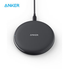 Anker 10W Wireless Charger,Qi-Certified Powerwave Pad Upgraded,7.5W for iPhone,10W Fast-Charging for Galaxy S10/S9/S8/Note 9etc(China)