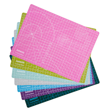 A3 A4 A5 Cutting Mats Pvc Rectangle Grid Lines Self Healing Cutting Board Tool Fabric Leather Paper Craft DIY Tools Plate Pad high quality and durable pad cutting tool diy a4 pvc rectangular grid line fabric leather paper