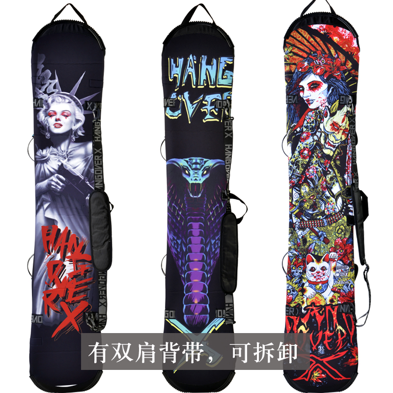 Snowboard Cover   Backpack  | Protection Cover 138/145/148/155/160 send a message of you length   a7367