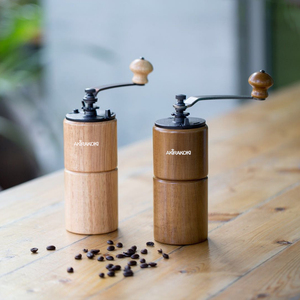 Image 5 - Moulin à café manuel AKIRAKOKI avec réglage réglable moulin à café conique broyeur à café pour goutteur à main française Mokapot