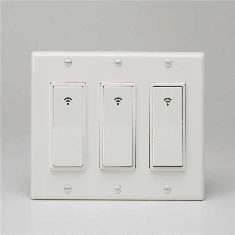 1/2/3 Gang Switch Box Works Remote Controls Timing Function Suit WiFi Smart Wall Light Switch  Smart Light Switch