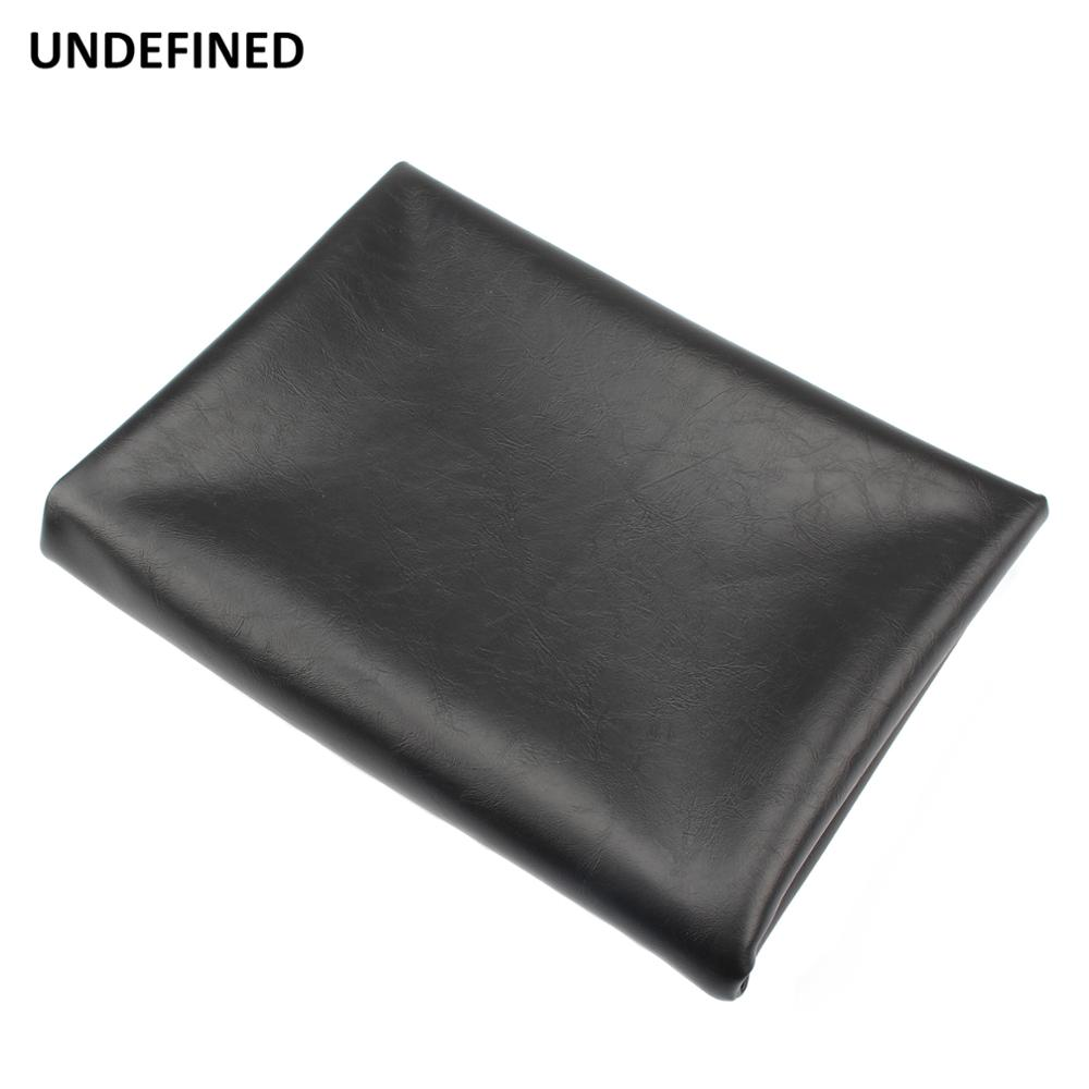 Motorcycle Seat Cover Leather Waterproof Anti Slip Seat Cover Protector 70 100 cm For ATV Scooter Electric Car Universal