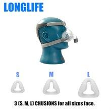 Longlife N4 CPAP Nasal Mask Universal Size W/ Headgear for CPAP Auto CPAP APAP BIPAP Nasal Mask Sleep Snoring Apnea COPD