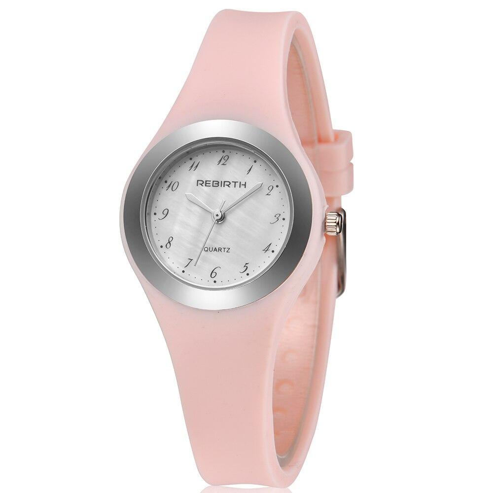 Fashion Women Dress Watches Montre Homme Lady Elegent Quartz Watch Soft Silicone Strap Clock Female Wristwatch Relogio Masculin