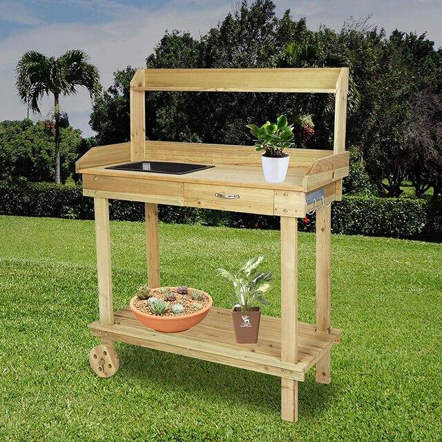 Garden Planting Work Bench Table 3