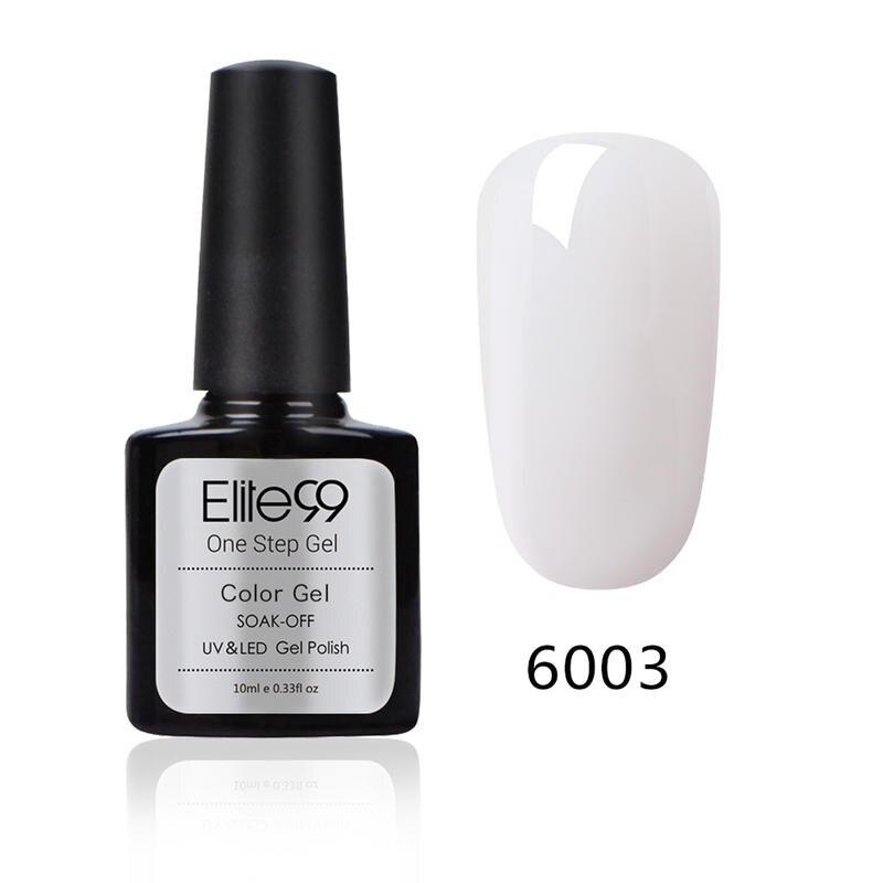 Elite99 10 мл 3 в 1 Один Шаг Гель-лак для ногтей маникюр макияж Лаки без необходимы вещи наивысшего пальто основание Гибридный гвоздь Гель-лак
