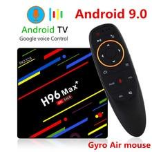 H96 MAX Plus TV BOX Android 9.0 4GB RAM 32GB 64GB ROM RK3328