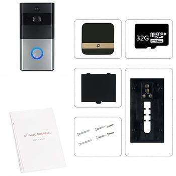 Smart IP Video Intercom WI-FI Video 720P Ring Phone Door Bell Cam WIFI Doorbell Camera Home Alarm Wireless Security Camera 10