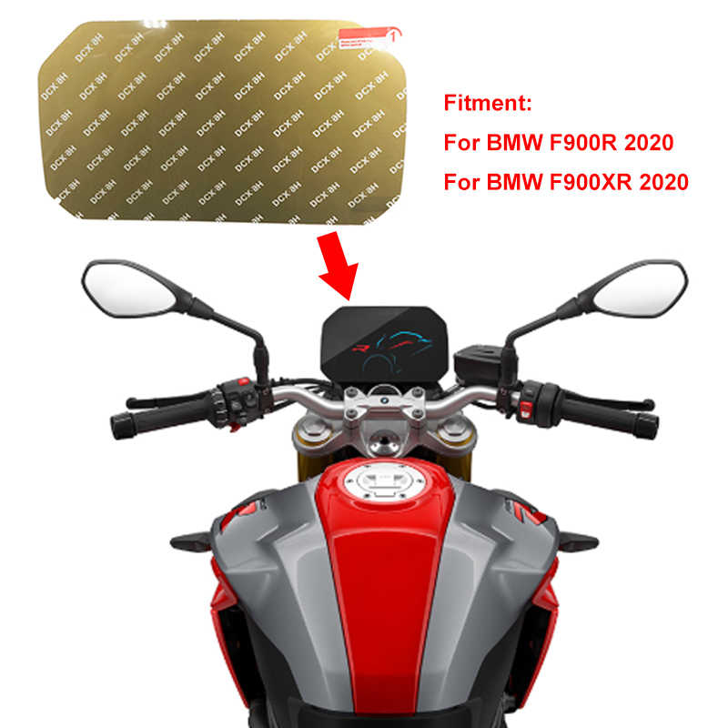Für BMW F900R F900XR F 900 R F 900 XR Cluster Scratch-Screen Schutz Film Dashboard screen Protector 2020 F900R /F900XR