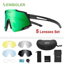 NEWBOLER Polarized Cycling Glasses Bike Outdoor Sports Bicycle Sunglass