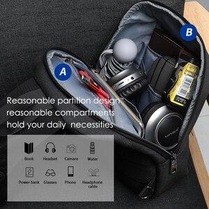 Image 4 - 2020 nowy Tigernu RFID z zabezpieczeniem przeciw kradzieży torba na klatkę piersiowa s wodoodporna mężczyźni lekka torba na klatkę piersiowa moda wysokiej jakości zamki błyskawiczne