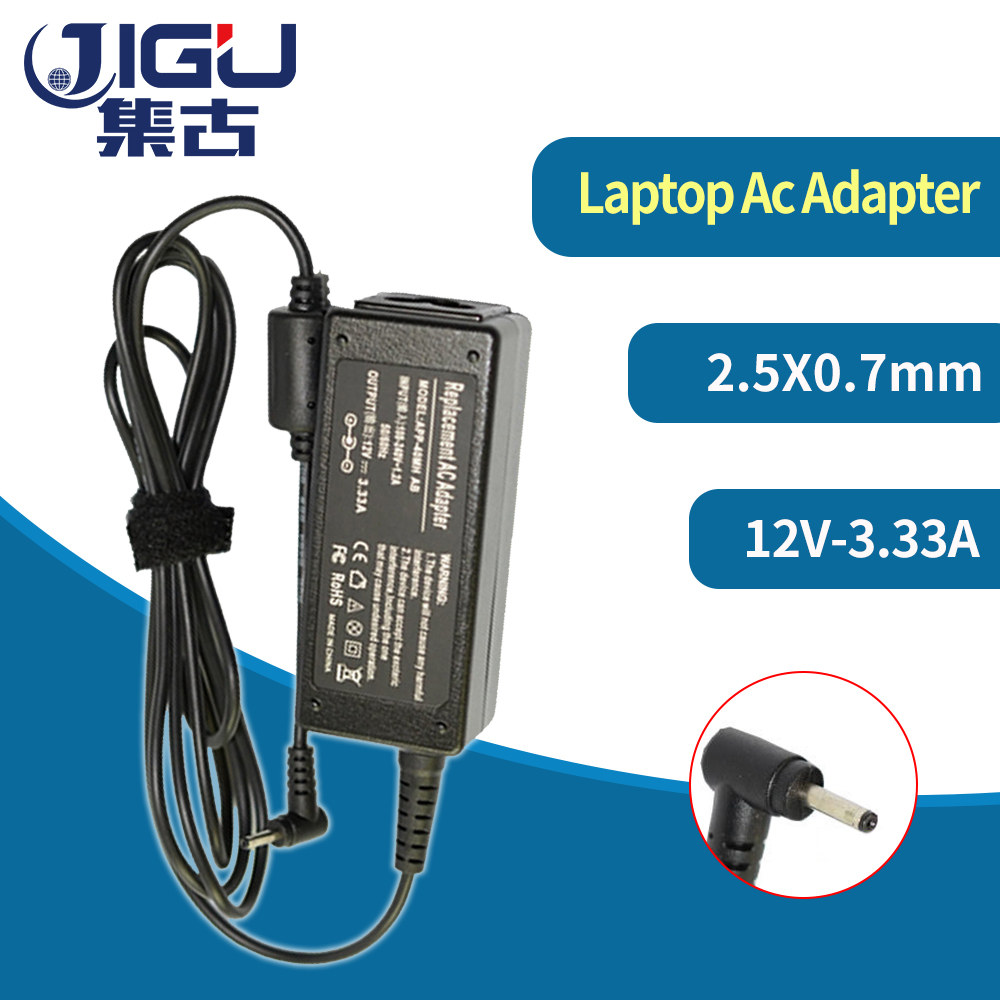 12V 3.33A 40W laptop AC power adapter <font><b>charger</b></font> for <font><b>Samsung</b></font> Smart PC 500T XE300TZC XE300TZCI XE700T1C Pro <font><b>700T</b></font> 2.5mm * 0.7mm image