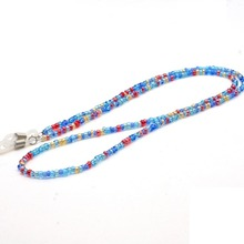 Fashion Glasses Chain Beaded Acrylic Sunglasses Lanyard Slip INS Popular Rope Hanging Neck