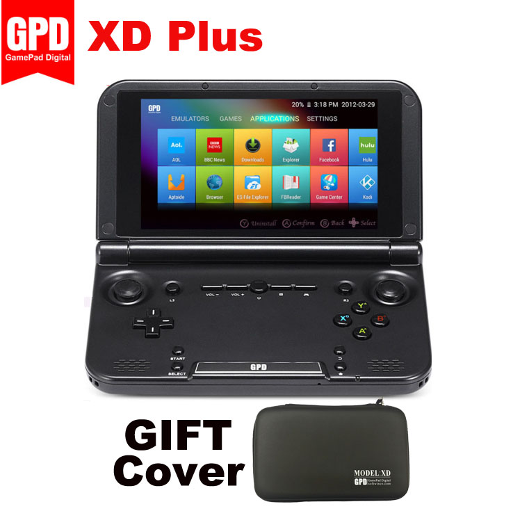 GPD H-IPS Gamepad Tablet Handled Xd-Plus 5inch-Android7.1 NEW PC Hexa-Core MT8176 1280--768 title=