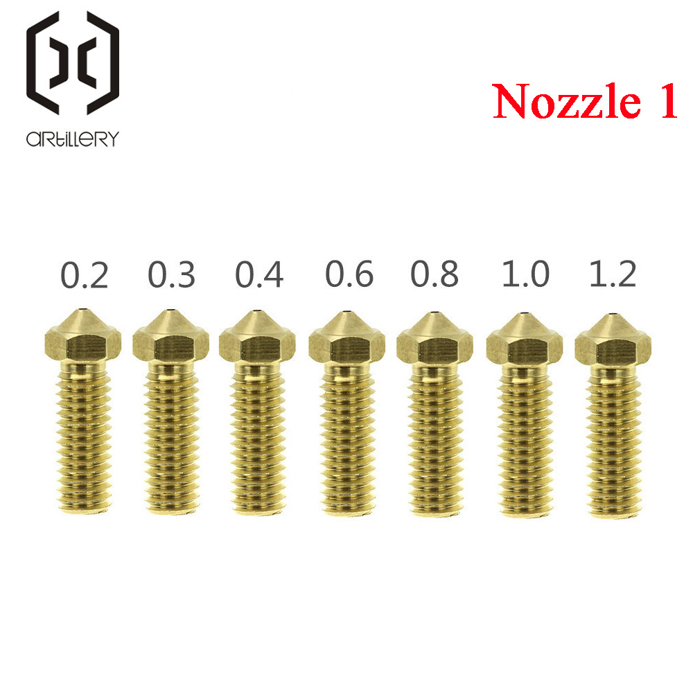 artillery 3D Printer Sidewinder X1 AND Genius Nozzle Apply To 1.75 Supplies
