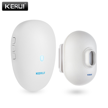 KERUI  Driveway Alarm Systems Smart Home Waterproof Motion Sensor Welcome Doorbell Car Garage Security Signal device For House 2