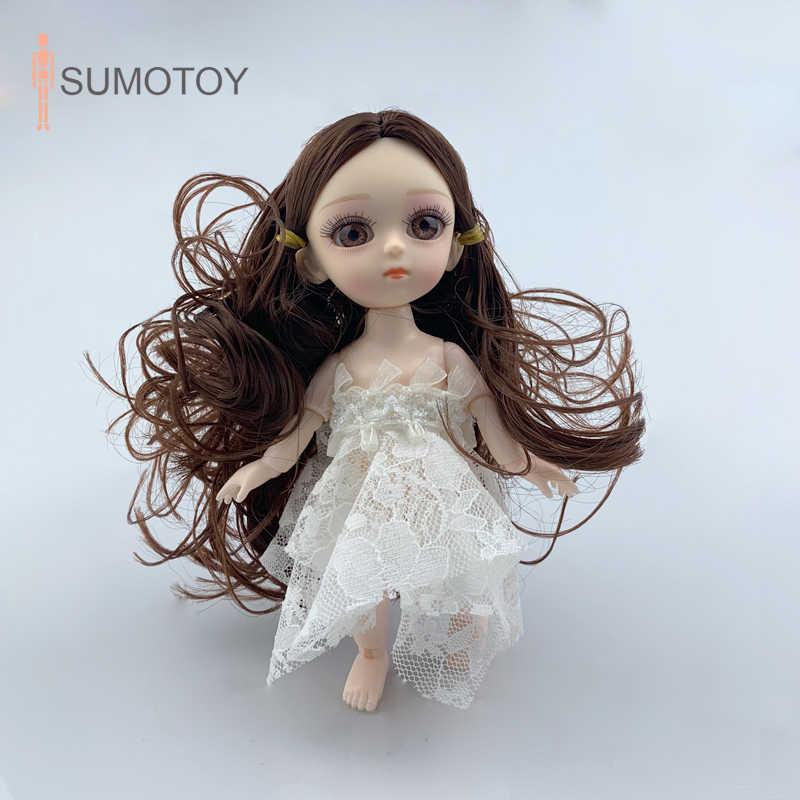 手作り Bjd 人形服 1/12 おもちゃオリジナル女の子プリンセス人形 14 ジョイント素敵な子供クリスマスギフト赤ちゃんのおもちゃ女の子