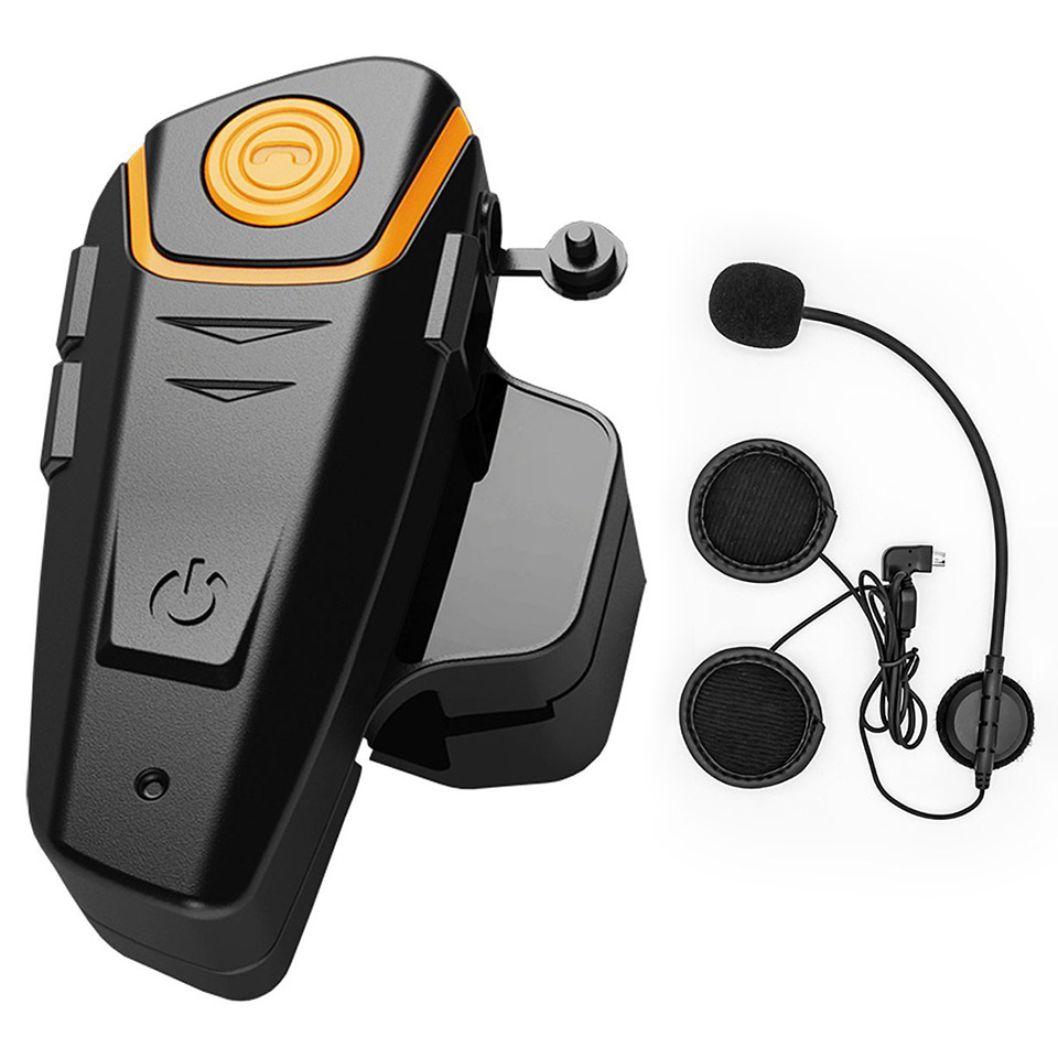 BT S2 Bluetooth Intercom Motorrad Helm Sprech Headset Wasserdichte Drahtlose Bluetooth Moto Headset Sprech