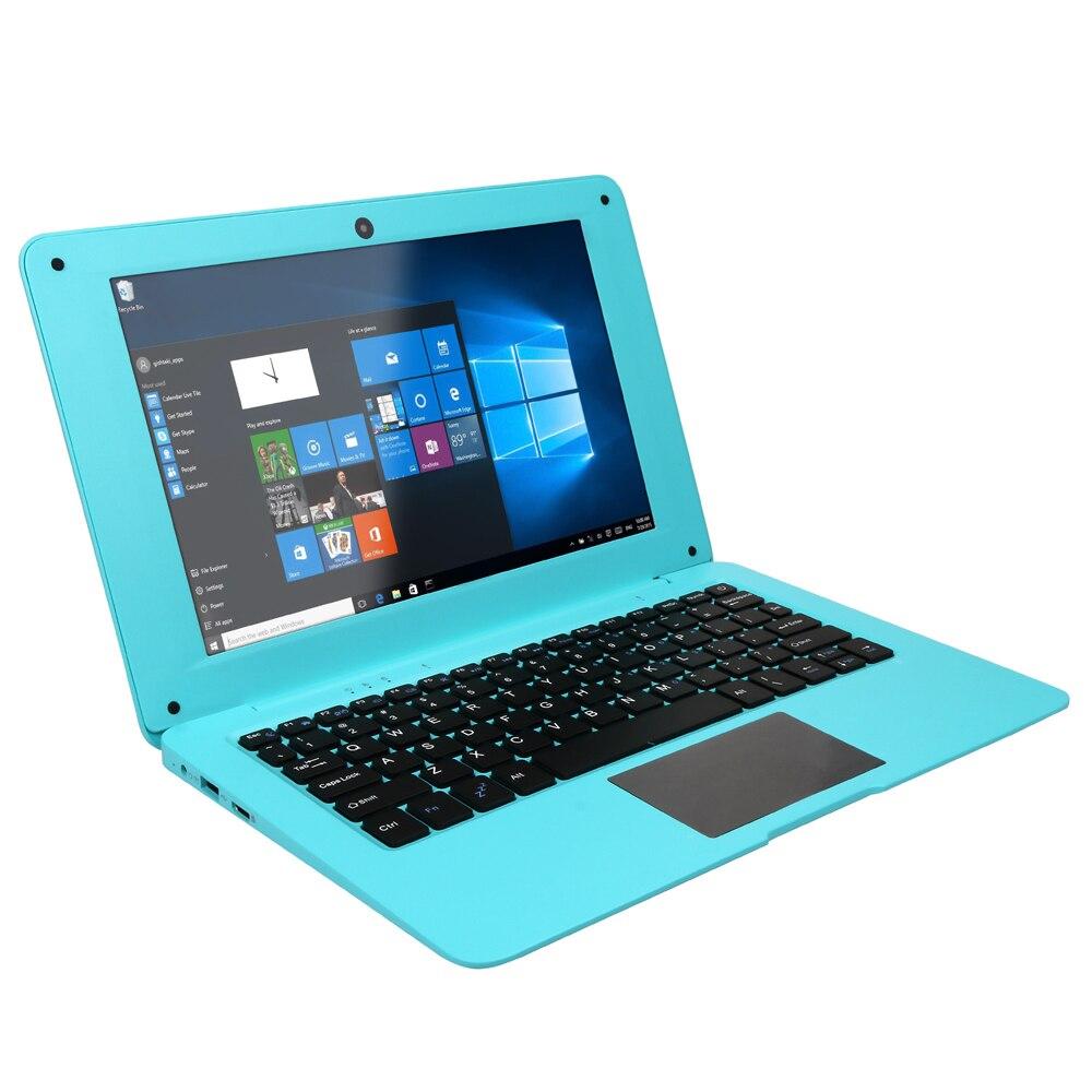 2020 Netbook nuevo 10,1 pulgadas Hd ligero y Ultra-delgada de 4GB + 64GGB Lapbook portátil Intel N3350 64-Bit Quad Core Netbook