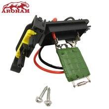 Aroham 7701207717 лучшее качество Нагреватель двигатель воздуходувка резистор вентилятор для Renault Megane MK II