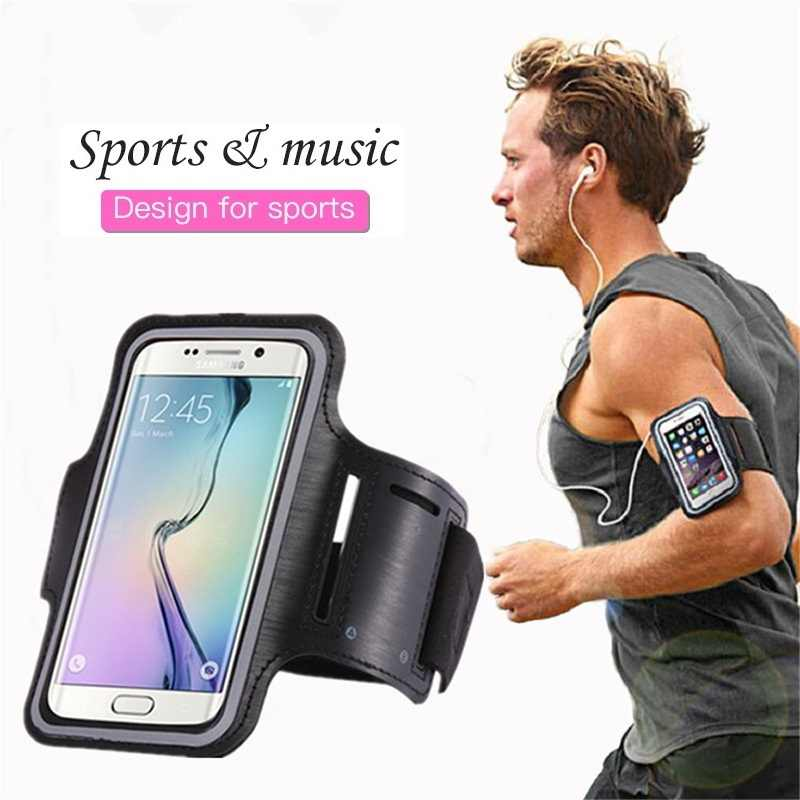 Sports Jogging Gym Armband Mobile Phone Holder For Samsung S8 S9 S10 S20 A51 A71