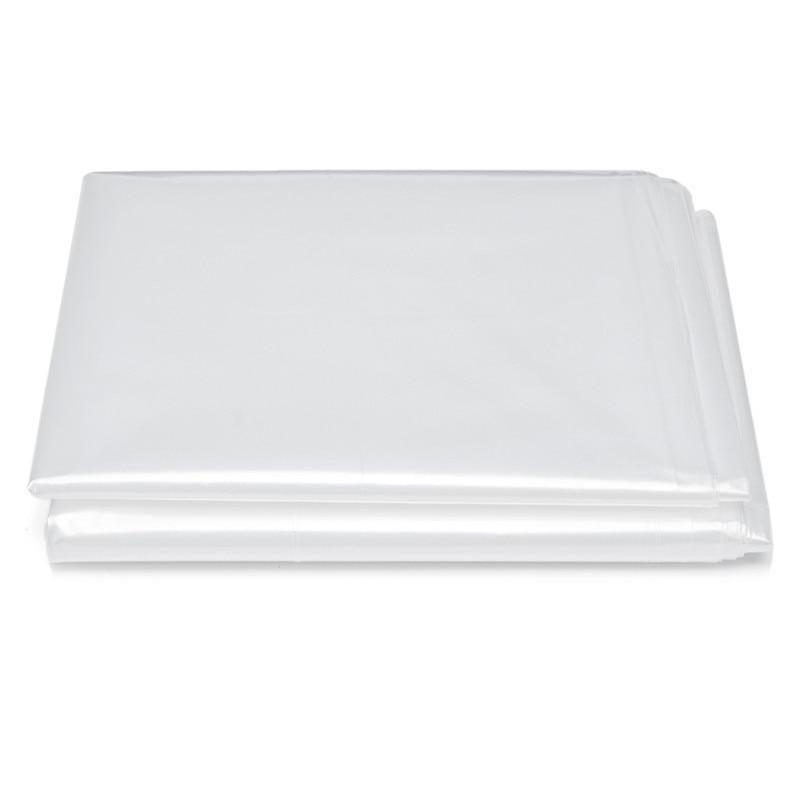 Прозрачный влагостойкий чехол для матраса, 200x240x35 см, толщина 0,08 мм