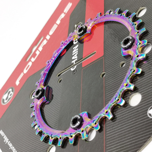 Fouriers CR-DX003-AH Bicycle Single Chain Ring BCD 104mm 30T-40T 4mm MTB Bike Chain-ringss Narrow-Wide Teeth
