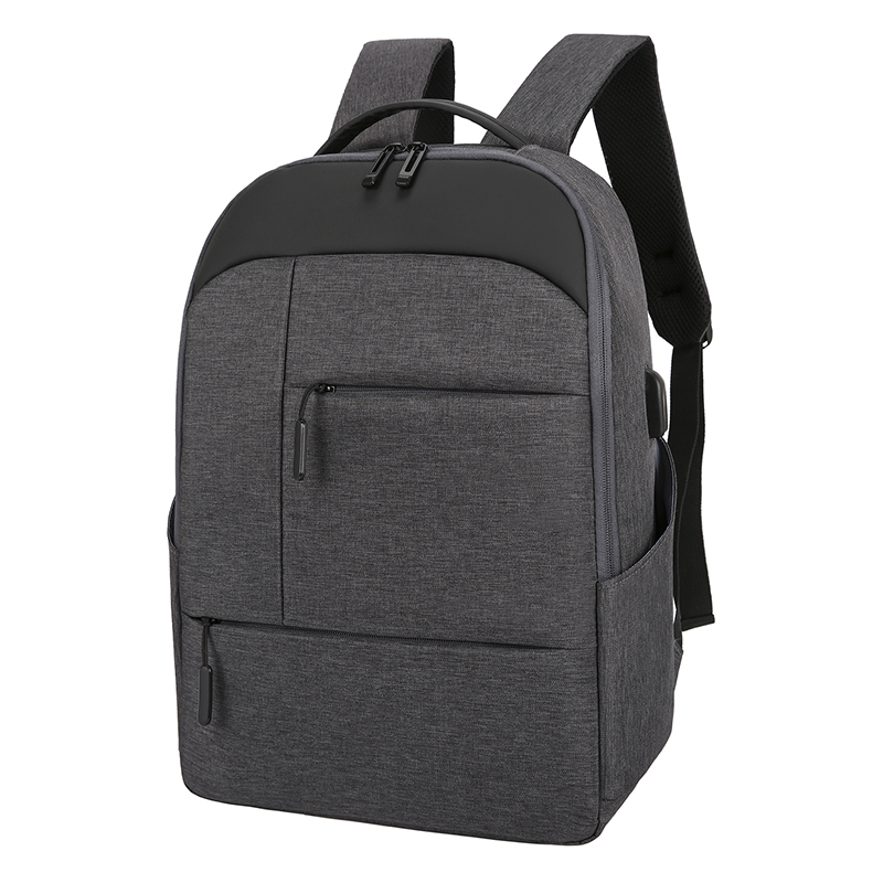 2020 New Fashion Laptop Backpack Men Women 15'6 Polyester USB Charge Waterproof Large Capacity Hiking Student School Travel Bag