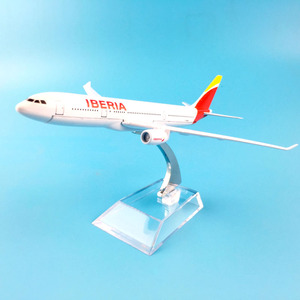 Image 2 - AIR PASSENGER  A330 IBERIA  AIR AIRWAYS   AIRPLANE  METAL ALLOY MODEL PLANE AIRCRAFT MODEL  TOY  BIRTHDAY GIFT  COLLECTON
