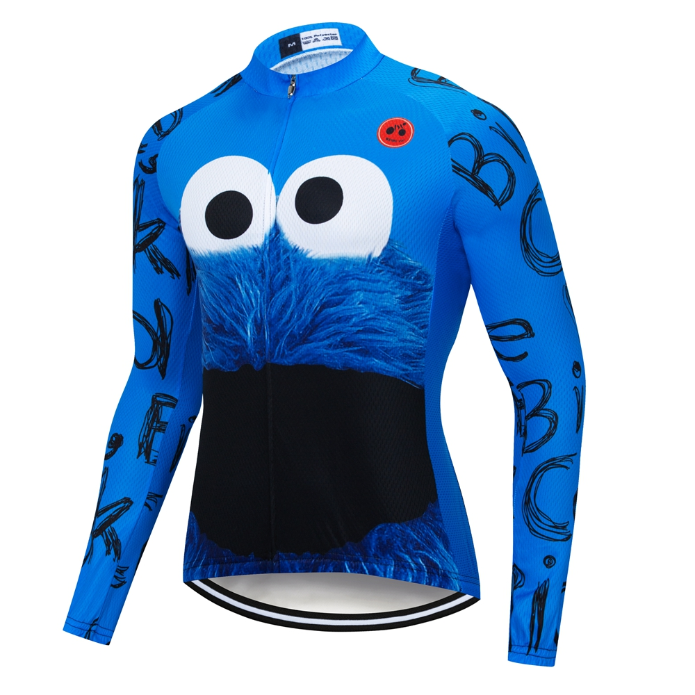Weimostar Cycling Jersey Men Long Sleeve Bike Jersey Shirts Ropa ciclismo Quick Dry MTB Mountain Road Bicycle Clothing wear Tops