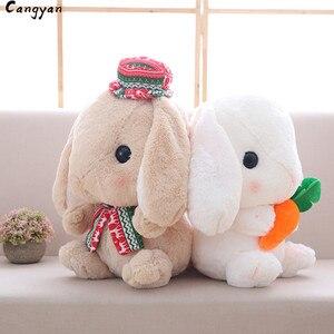 Милый ЛОП кролик, кукла, мягкий милый белый кролик, плюшевая игрушка, кукла кролика, подарок, кукла кролика