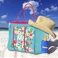 2020 mulheres saco de praia impressão bolsa neoprene moda trapézio tote messenger bags feminina bolsa de ombro designer yoga saco