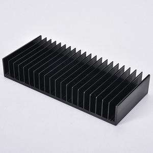 Image 5 - 1pcs Dissipatore di Calore In Alluminio Dissipatore di Calore Del Radiatore di Raffreddamento Pinna di FAI DA TE di Raffreddamento 184*84*30MM per Amplificatore audio