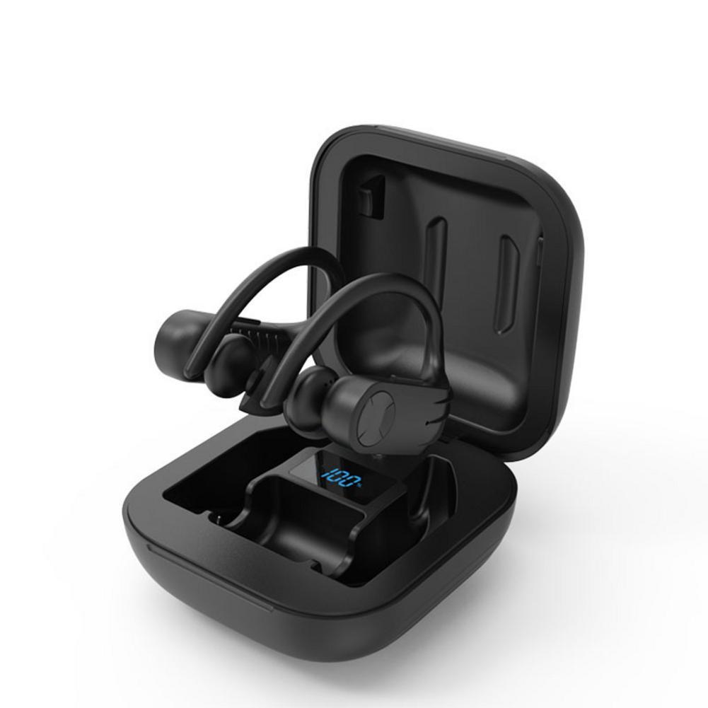 Новый B1 Беспроводной наушники Bluetooth 5,0 наушники-вкладыши TWS Bluetooth гарнитура цифровой Экран дисплея Водонепроницаемый 8D стерео Hi-Fi звук наушн...