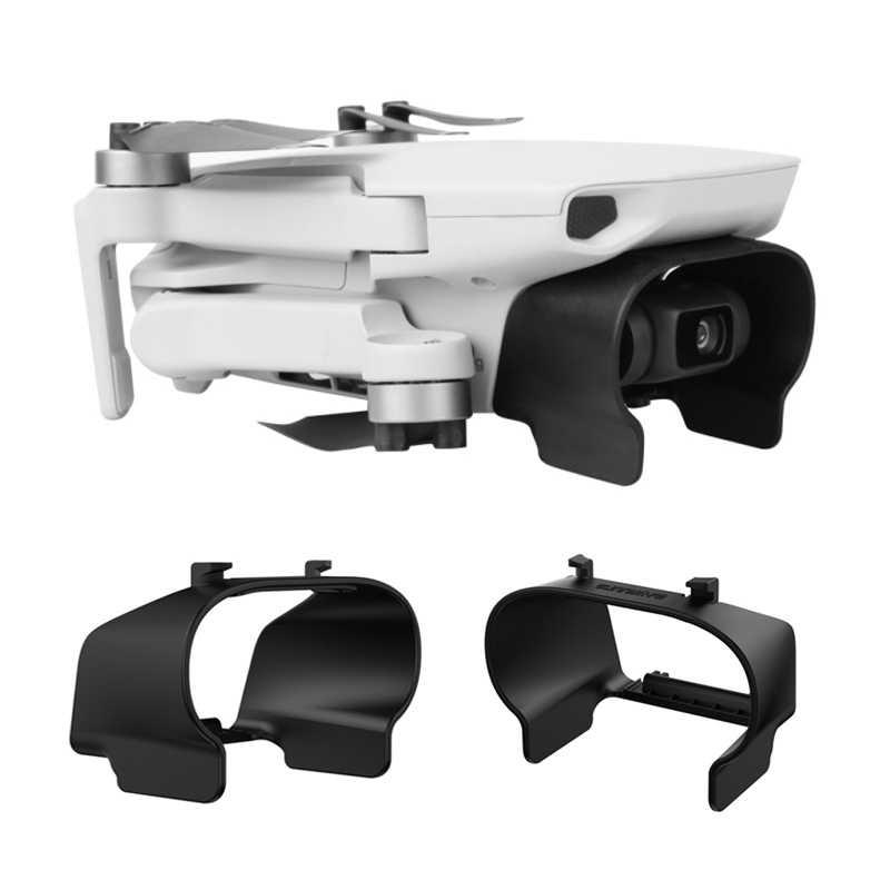Kerai Lensa Hood untuk DJI MAVIC Mini Drone Tutup Pelindung Lensa Gimbal Kamera Guard Anti-Glare untuk DJI MAVIC Aksesoris