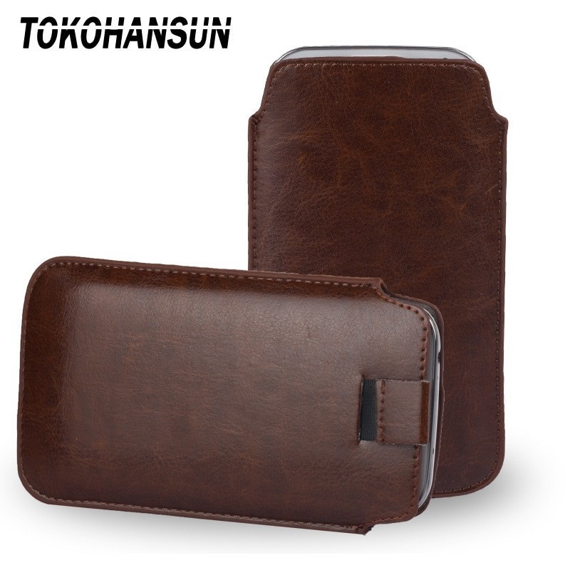 TOKOHANSUN Universal Phone Case for <font><b>Philips</b></font> Xenium <font><b>E570</b></font> S257 PU Leather Phone Bags Cases image