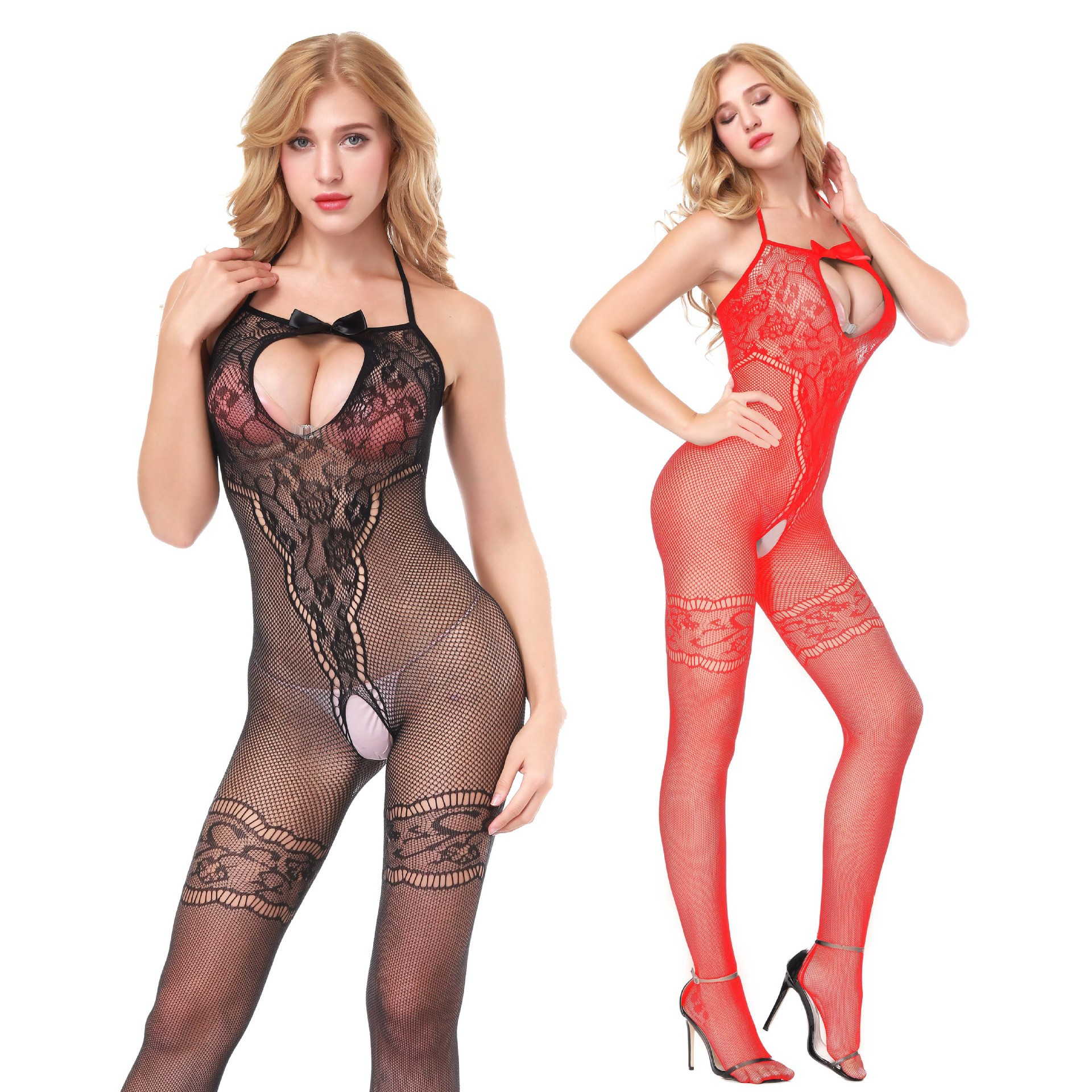 <font><b>Sexy</b></font> Fishnet Erotic Lingerie Plus Size Hot Erotic Costumes Teddy Lenceria Sex Clothes Open Crotch <font><b>Baby</b></font> <font><b>Doll</b></font> <font><b>Mujer</b></font> <font><b>Sexy</b></font> Underwear image