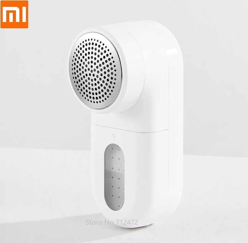 Xiaomi Mijia Mini Portable Lint Remover Hair Ball Trimmer Sweater Remover 5 Leaf Cutter Head Motor Trimmer With Brush Inside