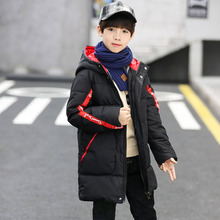 Children Winter Down cotton Jackets for Boys girl clothes Snowsuit Kids Parka Warm Thicken   Coat Teen outwear clothing цена 2017