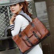 2019 new style women's bag, Korean style, retro, commuting bag, large-capacity, single-shoulder oblique bag travel bag