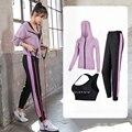 New Women Hooded Sportswear Loose Sports Bras Pants Jacket Tracksuit Fitness Yoga Gym Workout Run Jogging XXL Sport Suit Female