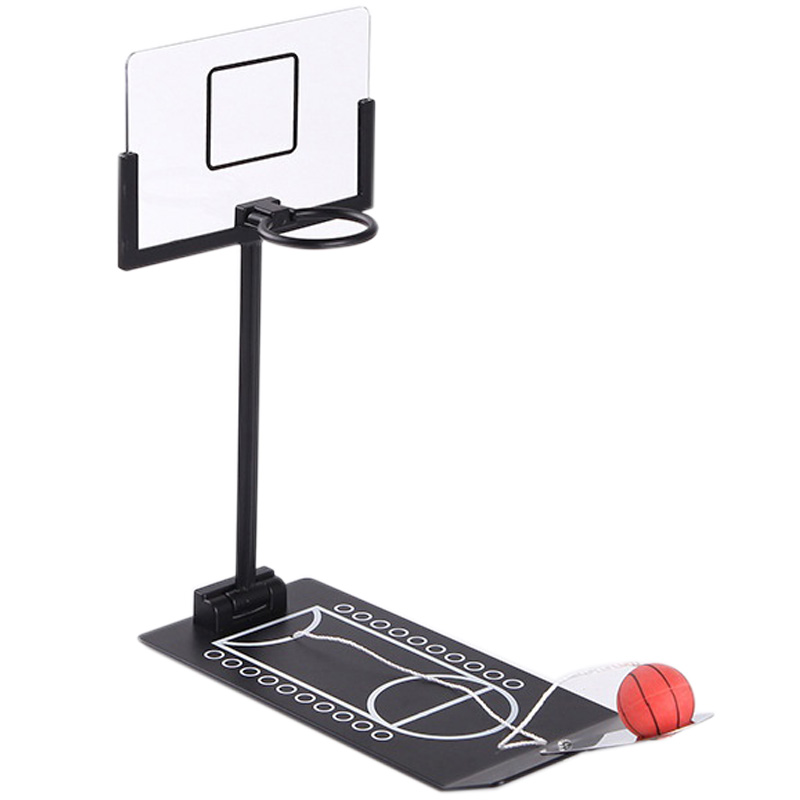 Stress Relief Toy Foldable Mini Basketball Game Office Desktop Table Basketball Birthday Gift Training Toys
