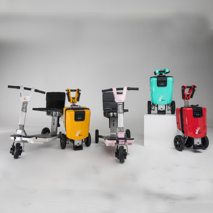 Can Take Into Aircraft Electric Mobility Scooter with Lithium Battery 48V 250W Can Load 330lbs