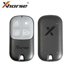 Xhorse VVDI2 XKXH00EN filaire universel coquille de clé à distance 4 boutons pour VVDI clé outil 5 pièces/lot